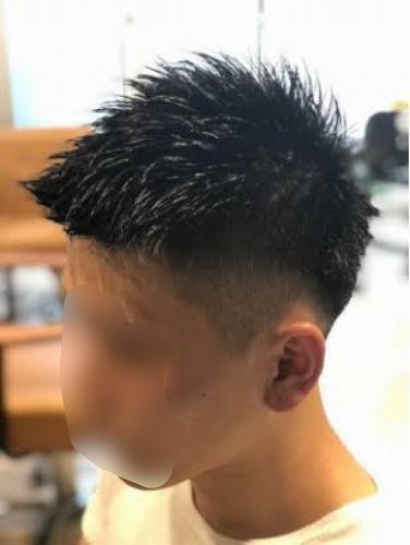髪型 ツーブロック2
