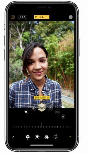 iPhone ポートレート