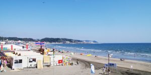 由比ヶ浜の写真